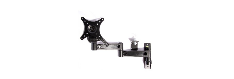 Majestic TV Mounting Bracket and Swing Arms for Boat, Caravan, RV